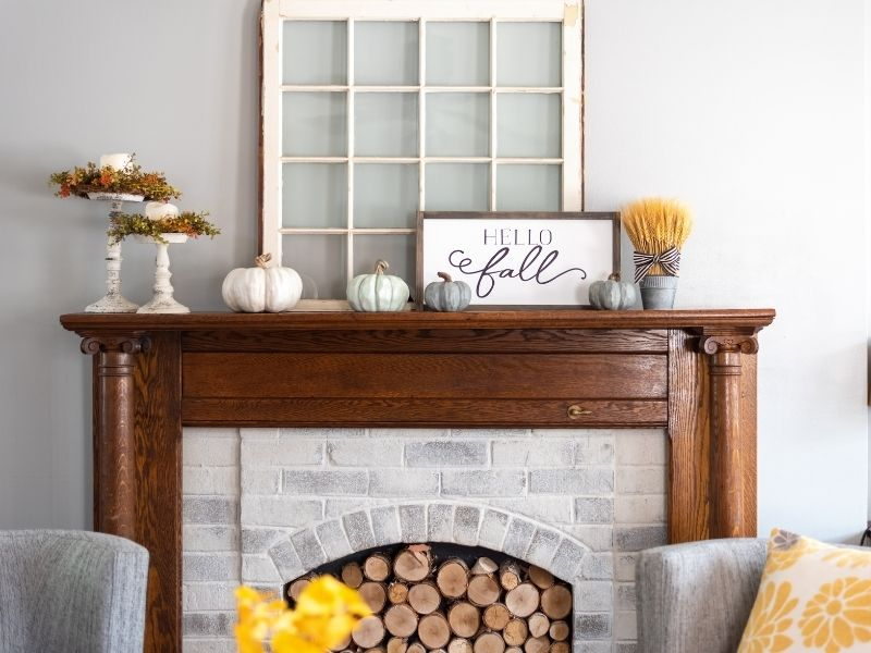 10 Budget-Friendly Ways to Refresh Your Living Room - Redecorate the Mantel