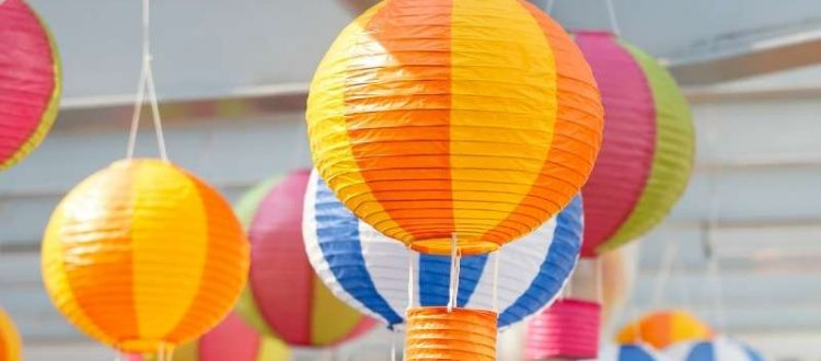 6 Affordable DIY Outdoor Decor Ideas for Your Backyard - Decorate with Paper Lanterns