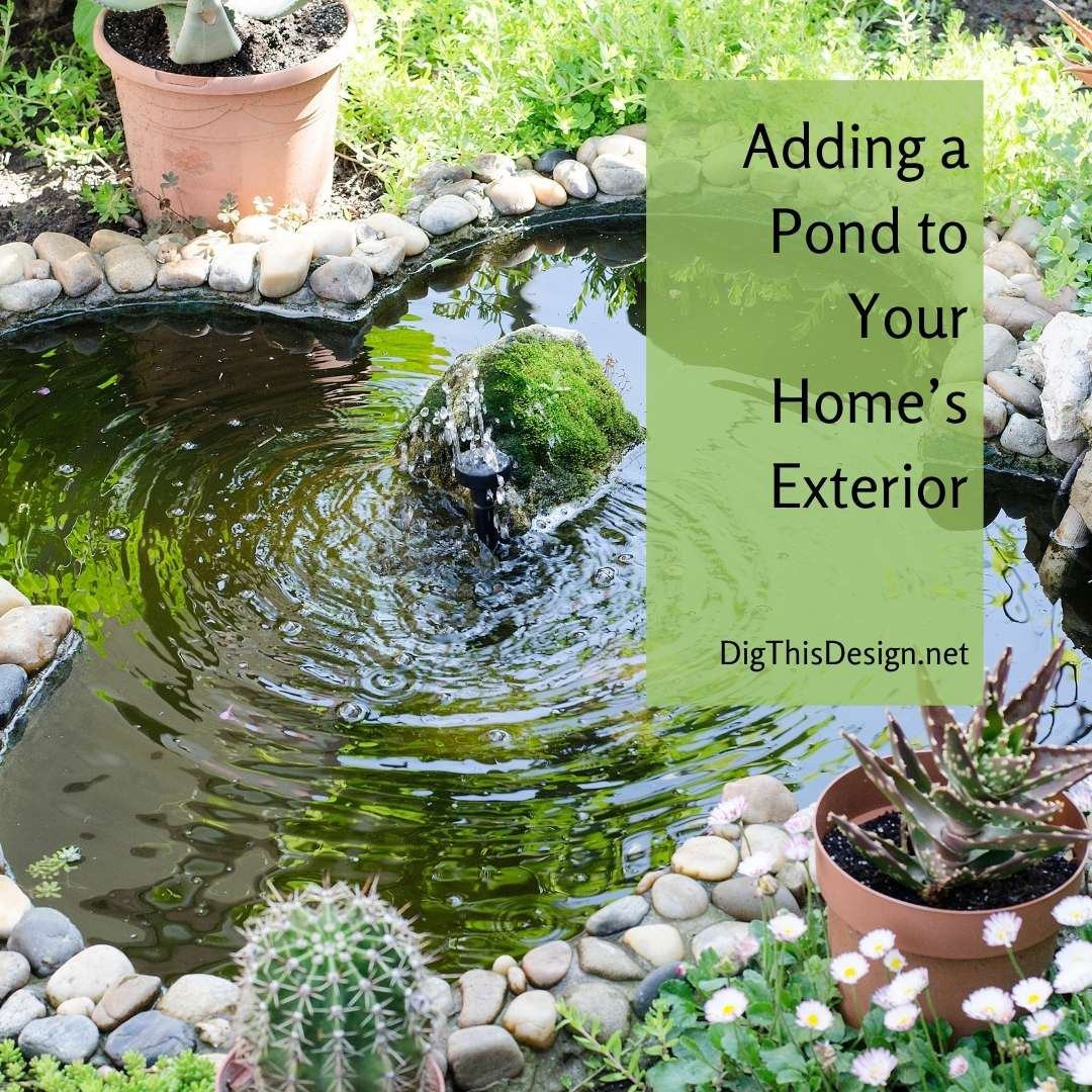 Adding a Pond to Your Home's Exterior