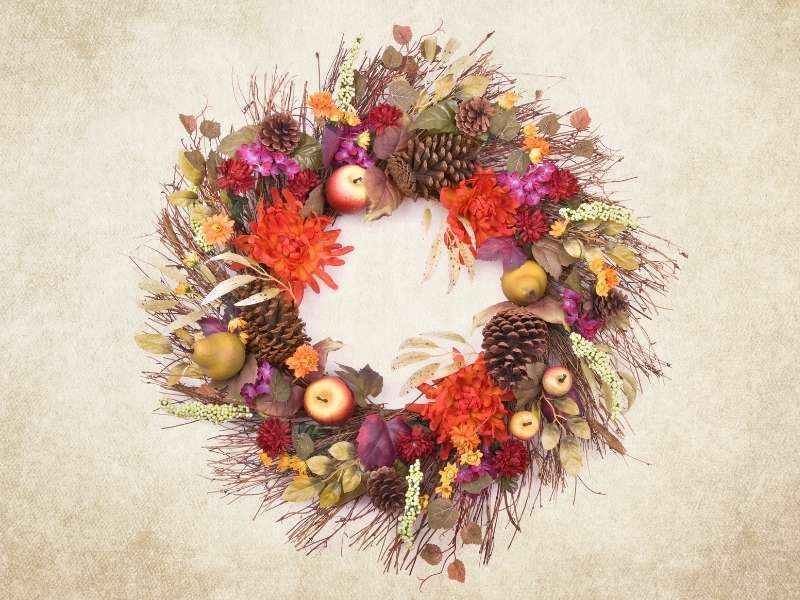 Fall Wreath for November 2020