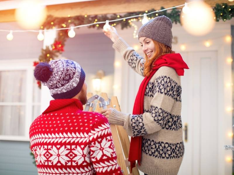 Low-Cost Ways to Spruce Up Your Home for the Holidays - Clean Up the Yard