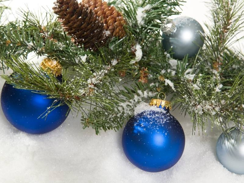 Use Pine Cones and Evergreen Branches