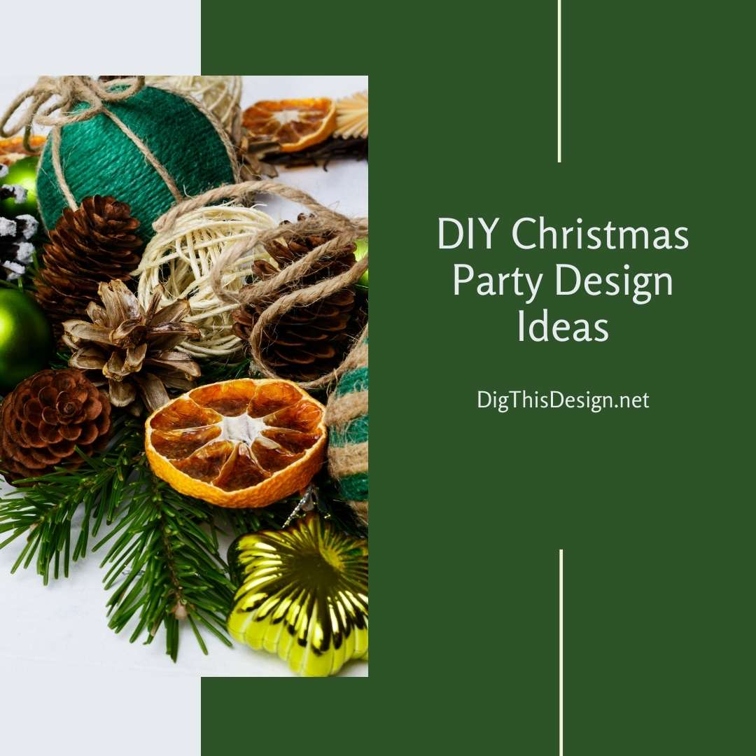 DIY Christmas Party Design Ideas