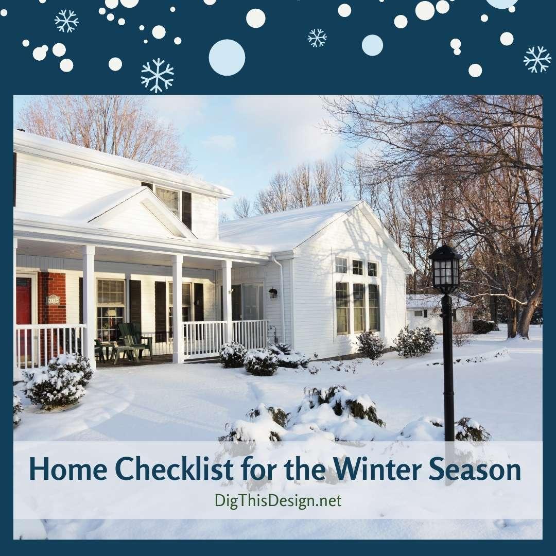 Home Checklist for the Winter Season