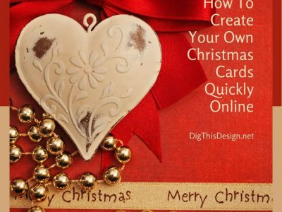 How To Create Your Own Christmas Cards Quickly Online
