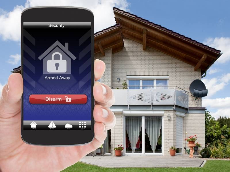 Install security system to keep your new home safe