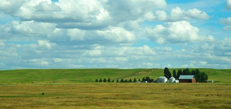 Living a Farm Life - Farm Landscape