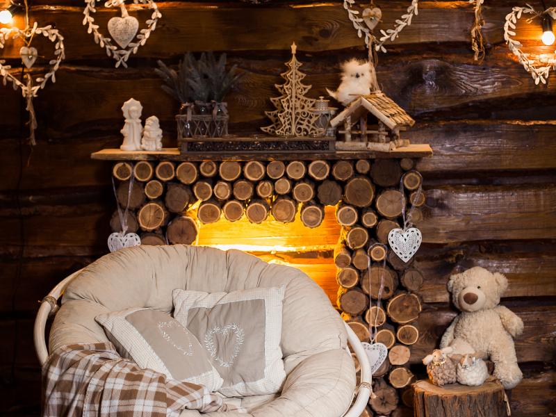 Winter Colors - Rustic Interior Design