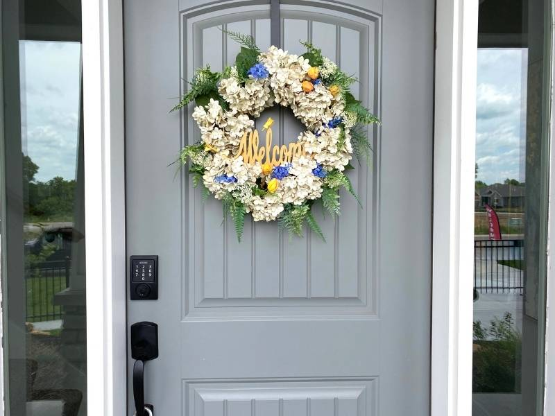 8 Ways to Increase the Value of Your Home - Paint the front door.
