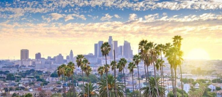Top Cities to Find Luxury Apartments at an Affordable Price - Los Angeles skyline in the morning.