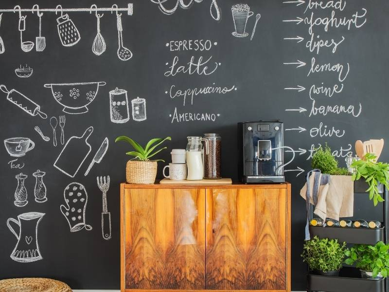 5 Design Ideas For Your Future Kitchen - Coffee bar