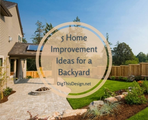 5 Home Improvement Ideas for a Backyard