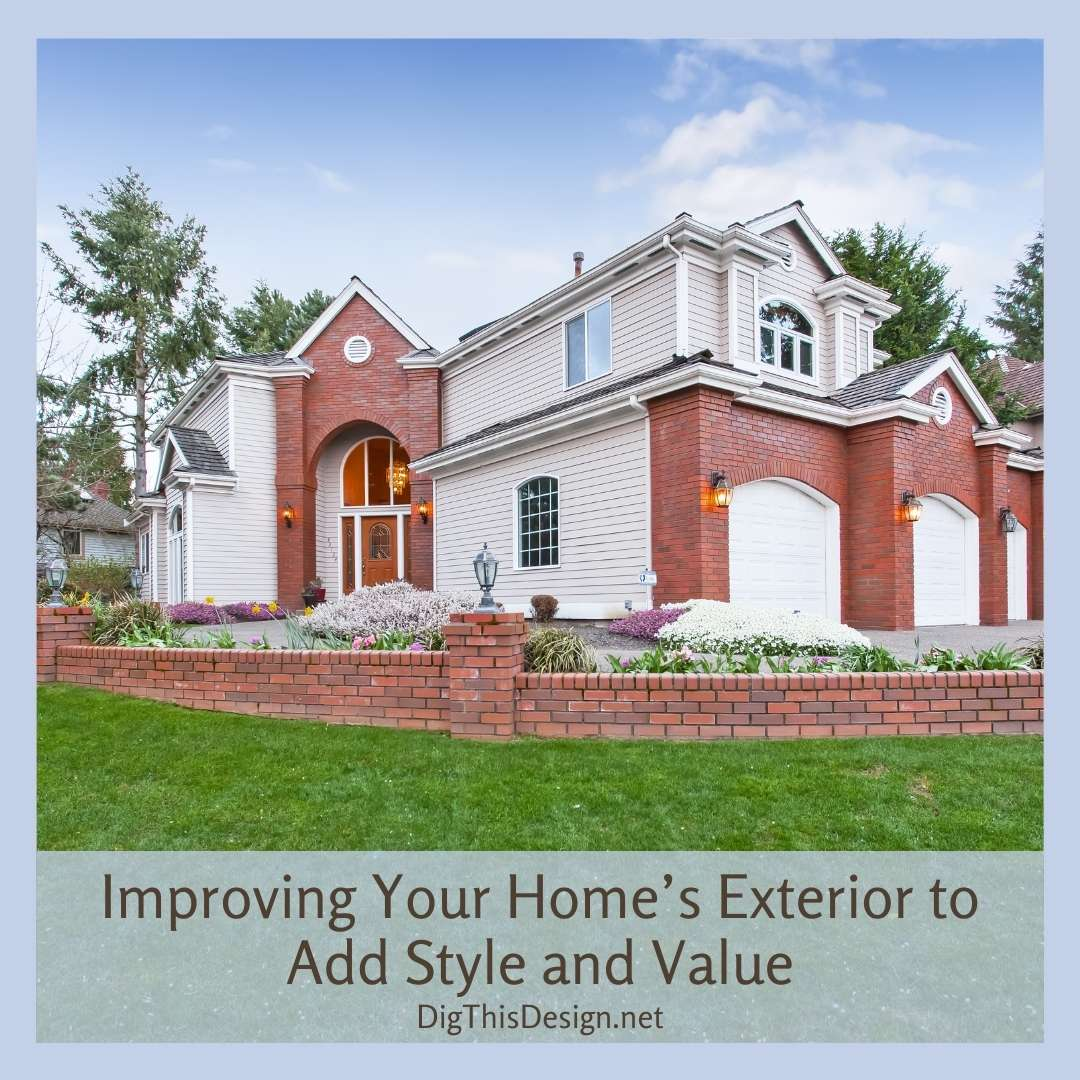 Add Style and Value - Landscaping added