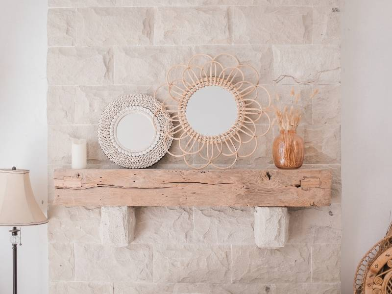 Going with the rustic vibe
