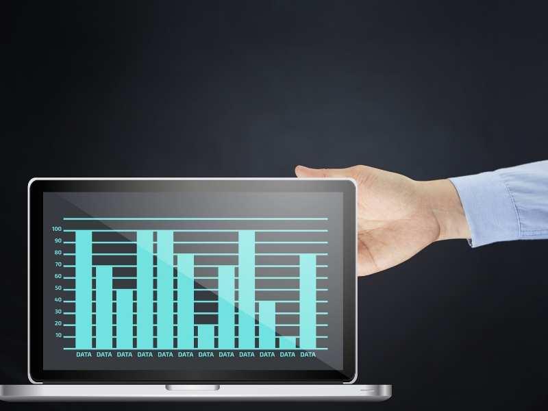 Presentation design data visualization
