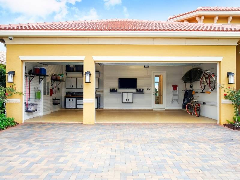 5 Excellent Approaches to the Art of Garage Design - Good organization