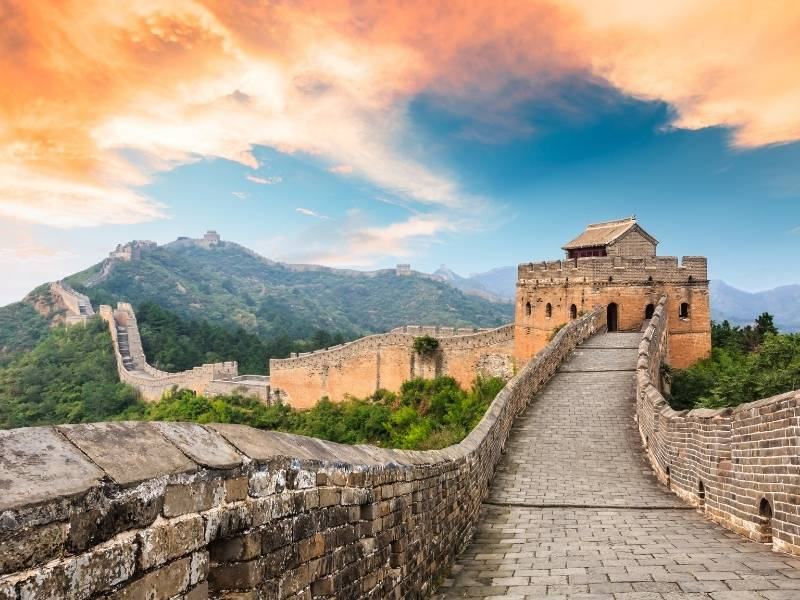 5 of the Most Impressive Structures in the Asia Pacific Region - The Great Wall of China