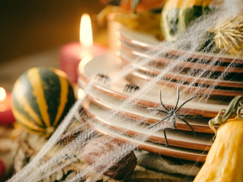 Designing Your Dining Table to be the Centerpiece of the Room  - Halloween Decor