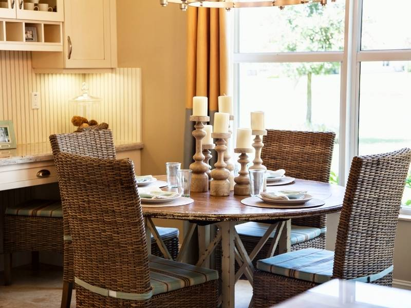 Designing Your Dining Table to be the Centerpiece of the Room - candles and candelabras