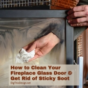 How to Clean Your Fireplace Glass Door