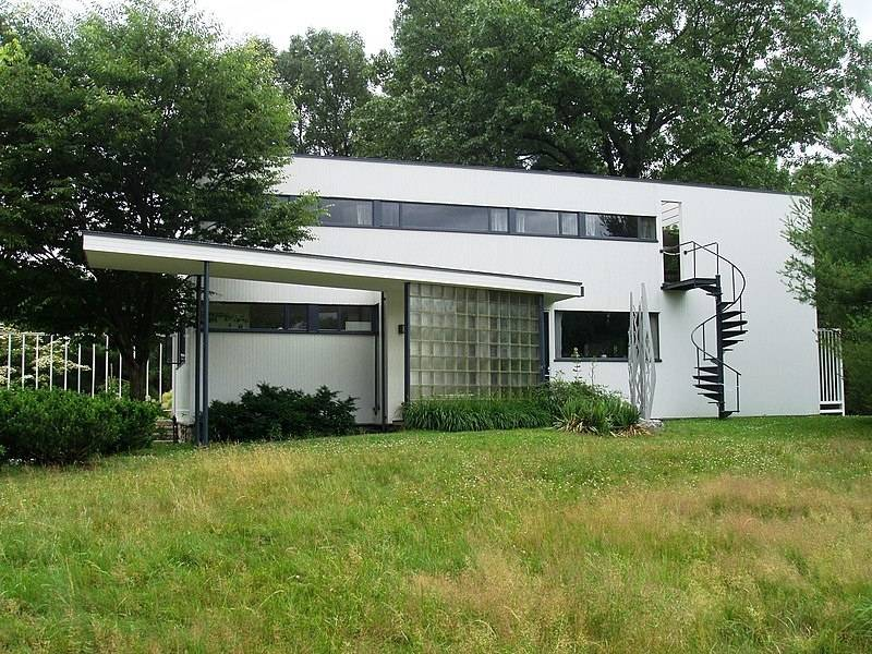 Six Homes Known for Their Unique Architecture -  The Gropius House in Lincoln, Massachusetts