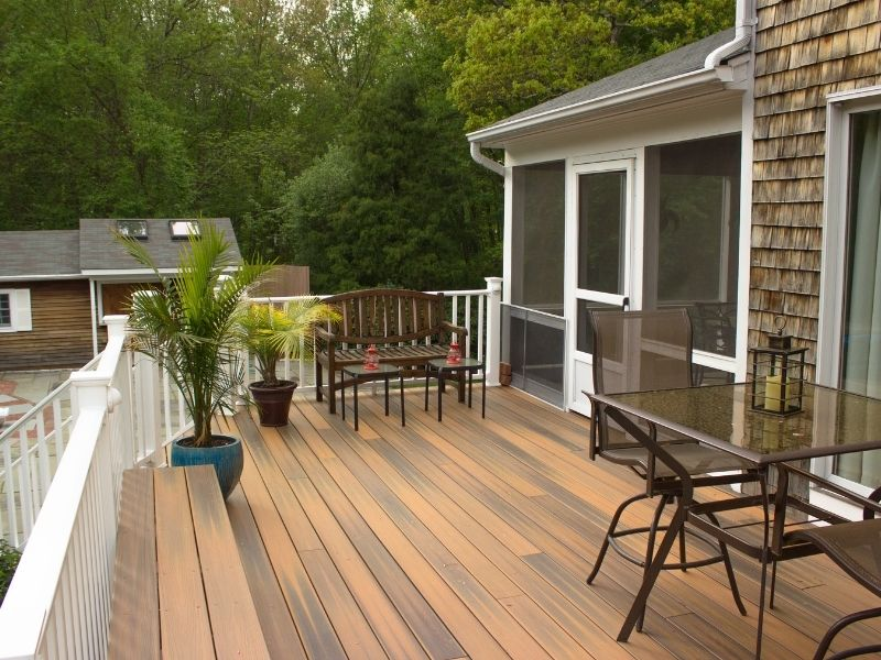 The Best Outdoor Floorings to Choose for Style and Practicality - wooden or composite deck