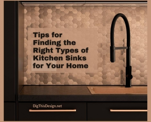 Tips for Finding the Right Types of Kitchen Sinks for Your Home