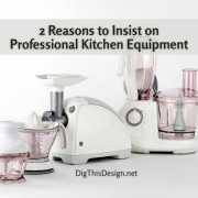 2 Reasons to Insist on Professional Kitchen Equipment