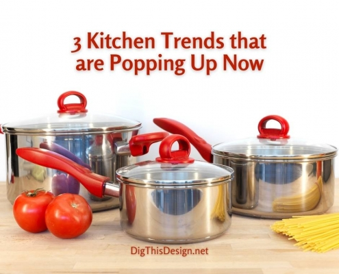 3 Kitchen Trends that are Popping Up Now