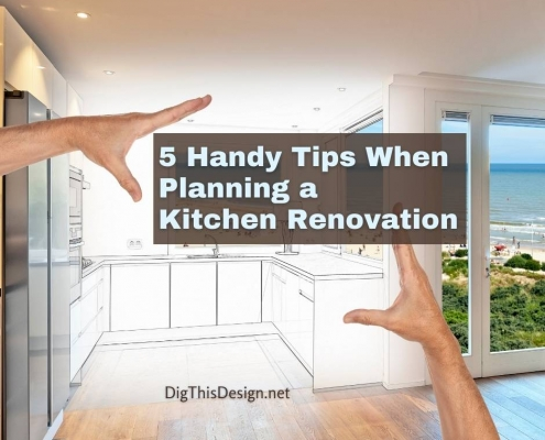 5 Handy Tips When Planning a Kitchen Renovation