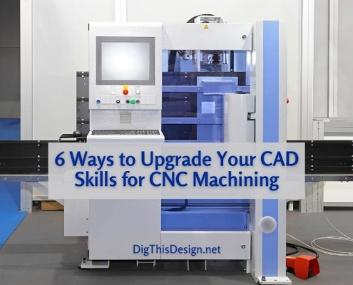 6 Ways to Upgrade Your CAD Skills for CNC Machining - image of a CNC Machine.