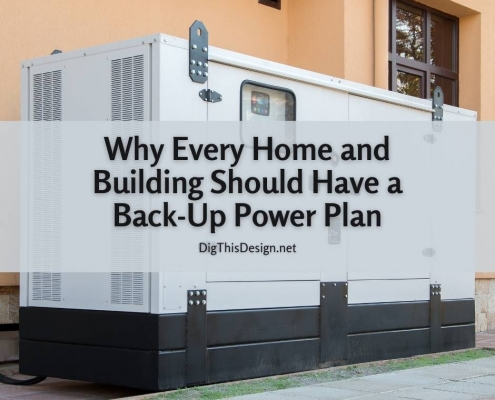Why Every Home and Building Should Have a Back-Up Power Plan