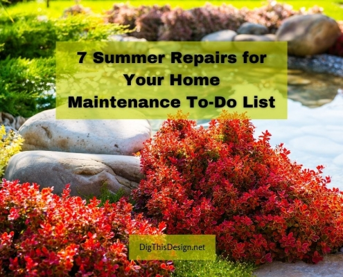7 Summer Repairs for Your Home Maintenance To-Do List