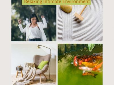 De-stressing and Relaxing Intimate Environment