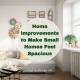 Home Improvements to Make Small Houses Feel Spacious