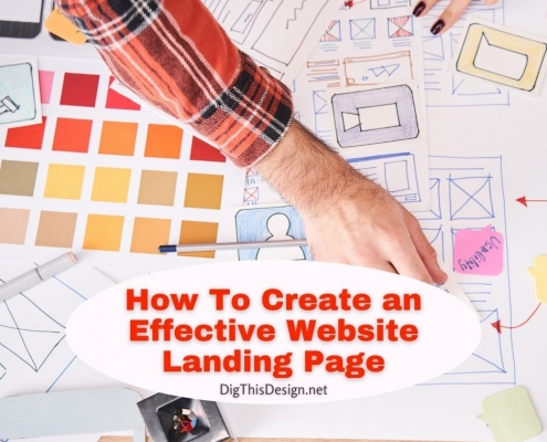 How To Create an Effective Website Landing Page