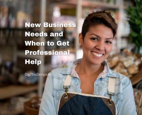 New Business Needs and When to Get Professional Help