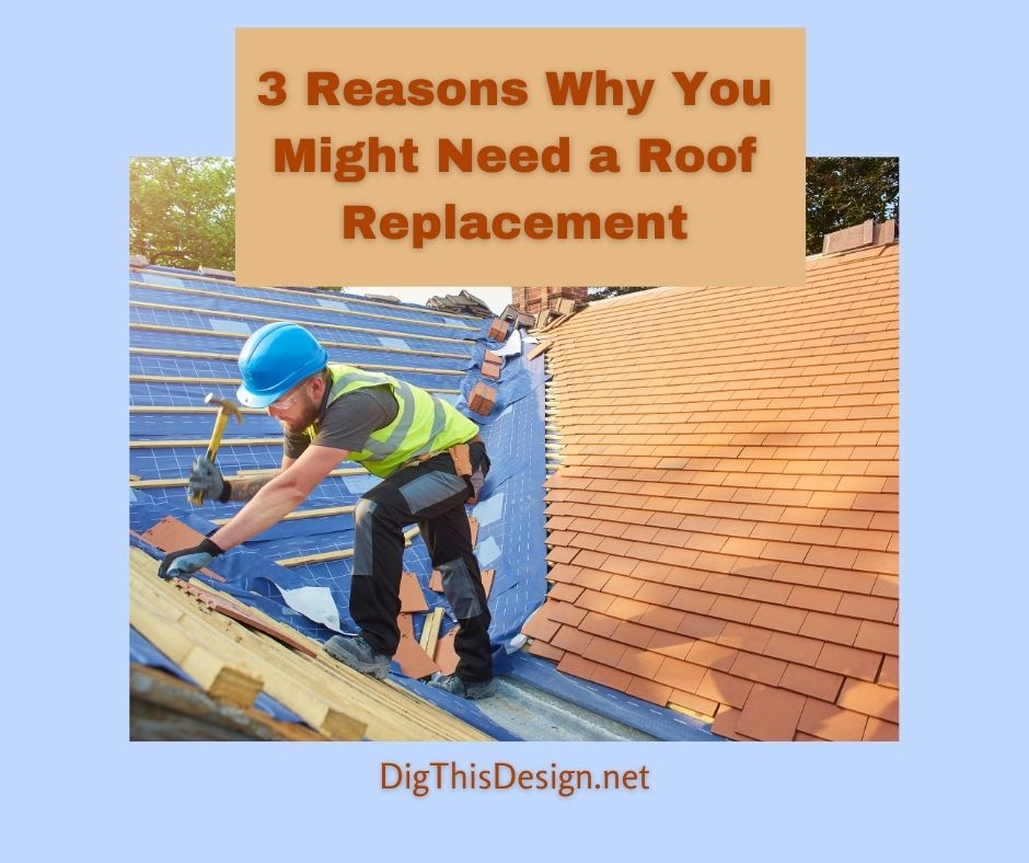 3 Potential Reasons for a Roof Replacement