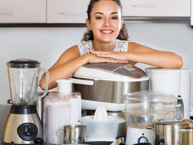 Kitchen appliances you need.
