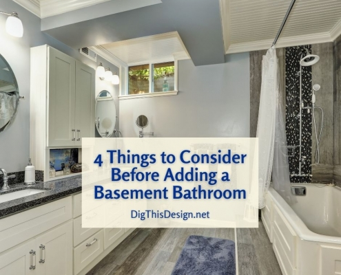 4 Things to Consider Before Adding a Basement Bathroom