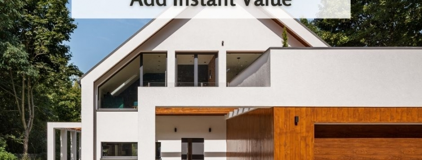 5 Home Improvements that Add Instant Value