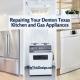 Repairing Your Denton Texas Kitchen and Gas Appliances
