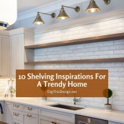 10 Shelving inspirations For A Trendy Home