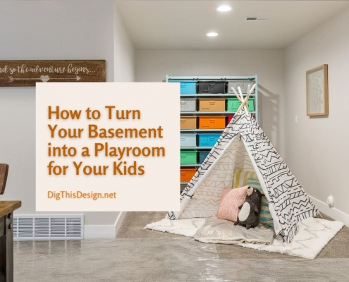 How to Turn Your Basement into a Playroom for Your Kids