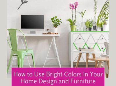 How to Use Bright Colors in Your Home