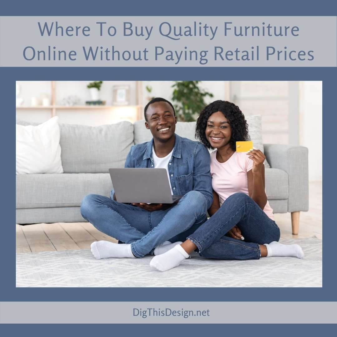 Where To Buy Quality Furniture Online