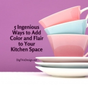 5 Ingenious Ways to Add Color and Flair to Your Kitchen Space