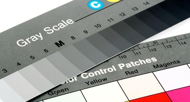 Color wheel for measuring color schemes.