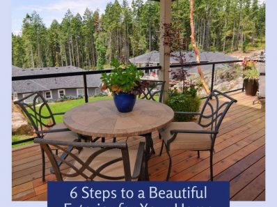 6 Steps to a Beautiful Exterior for Your Home