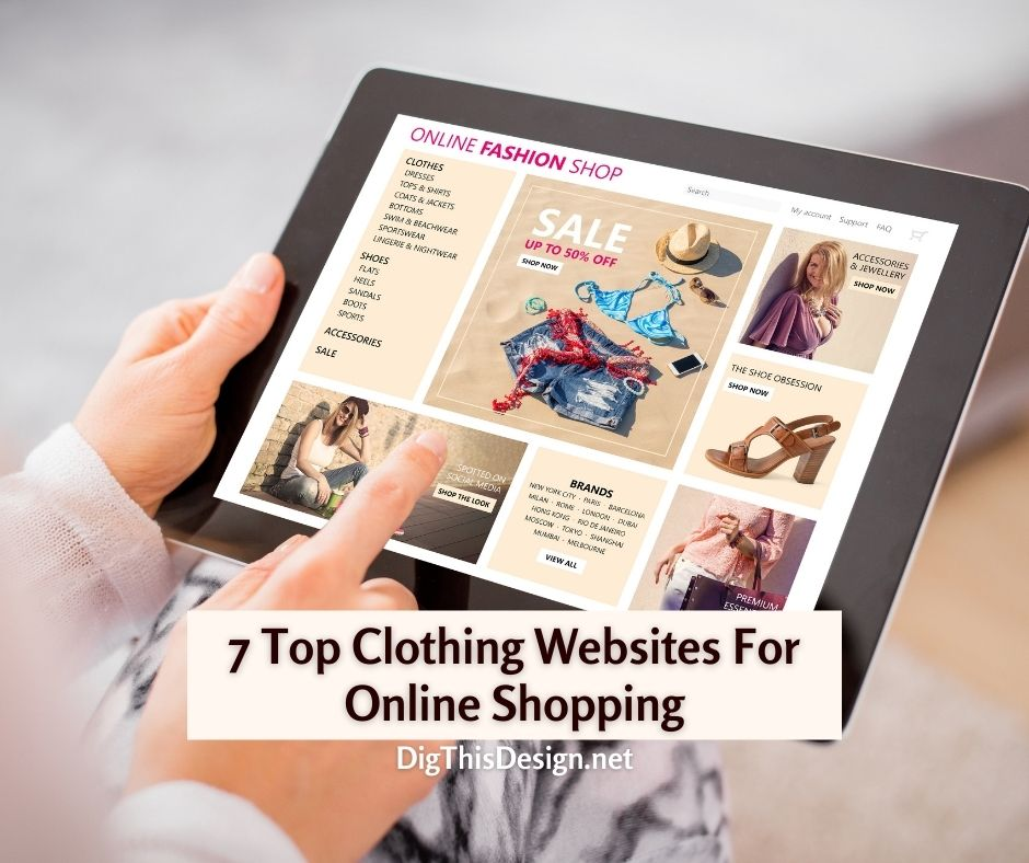 7 Top clothing websites for online shopping